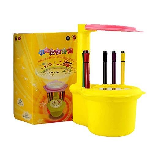 Majome - Proyector LED de Dibujo para niños, Juguetes de Dibujo ...