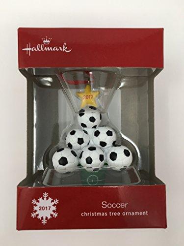 Hallmark Soccer Christmas Tree Ornament 2017