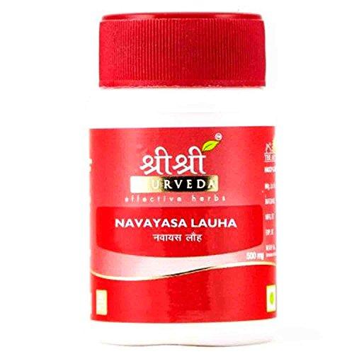 Sri Sri Ayurveda Navyasa Lauha Effective In Jaundice, Worms And Anaemia 30 Tabs (Worm Tab)