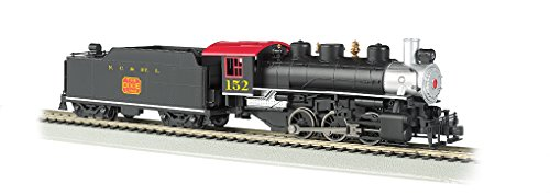 Bachmann Industries Trains Usra 0-6-0 with Smoke & Short Haul Tender N.C.& St. L. #152 Ho Scale Steam Locomotive