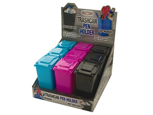 Trash Can Pen Holder Countertop Display - Pack of (Pen Counter Display)