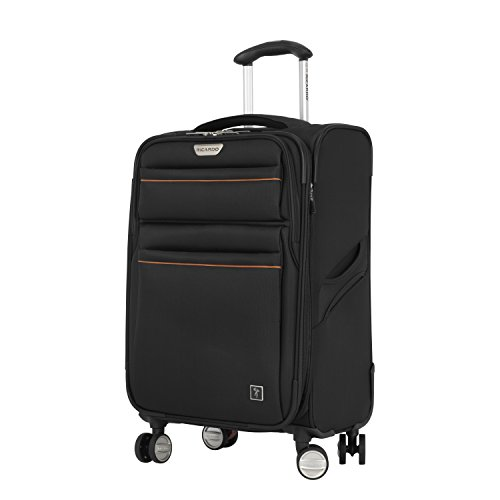 Ricardo Beverly Hills Mar Vista 2.0 21-inch Carry-on Spinner, Black