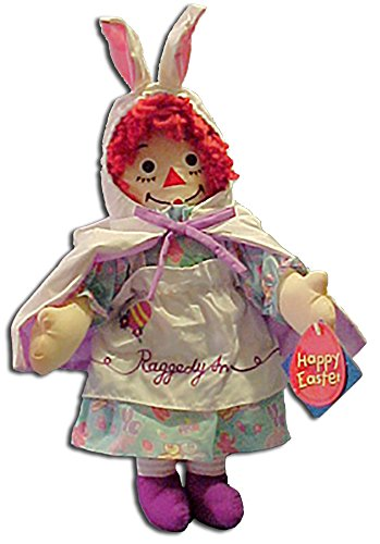 Raggedy Rag Doll (2001 Easter Raggedy Ann Rag Doll with Cape and Bunny Hood)