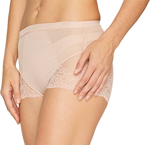 SPANX Women's Lace Collection Briefs, Vintage Rose, Small Vintage Rose Collection