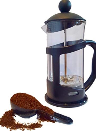 Best Prices! Small French Press Coffee Maker. Perfect For Single Serving - One Mug. Comes With Servi...