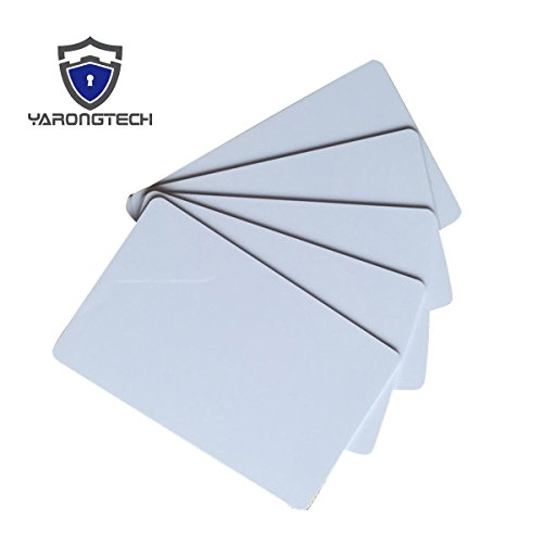 YARONGTECH-125khz writable rewrite blank white T5577 T5557 Plastic RFID hotel key card (Pack of 20)