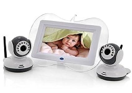 Agente007 - Vigila Bebes 2X Camaras + Monitor De 7&Quot; Con Videograbador