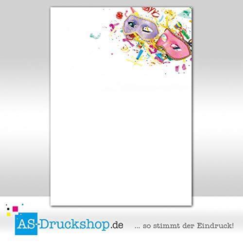 Design Paper Carnival - Masquerade Ball / 50 Sheets/DIN A4 / 90 g Offset Paper