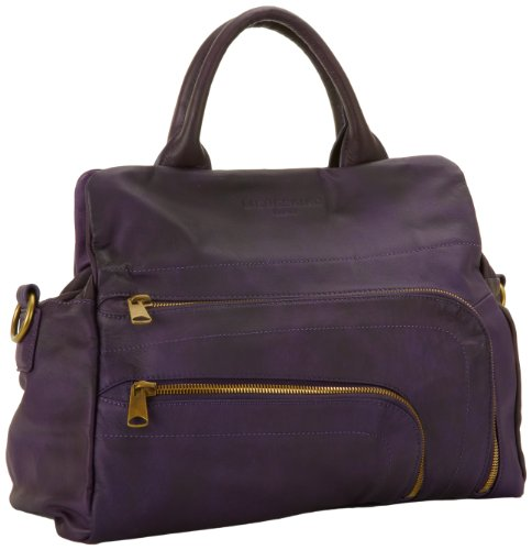 Liebeskind Berlin Luluspclf Shoulder Bag,Deep Purple,One Size, Bags Central