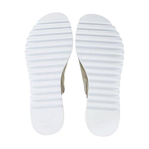 Donna pantofola pantofole mules muli Beige 23 613 Gabor 6PZqwxf16