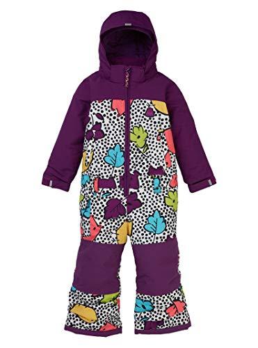 Burton Kids & Baby Toddler Girls Illusion One Piece, Hoos There, 2T (Snowboard Girls Toddler Jacket)