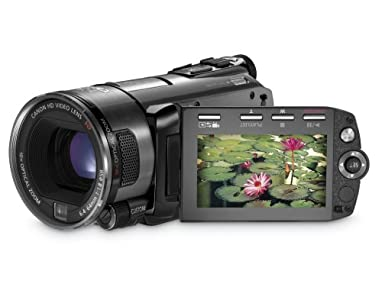 Canon VIXIA HFS100 HD Flash Memory Camcorder w/10x Optical Zoom – 2009 MODEL (Discontinued by Manufacturer)