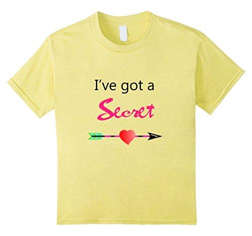Kids I've Got a Secret...I'm going to be a Big Sister Shirt 4 Lemon