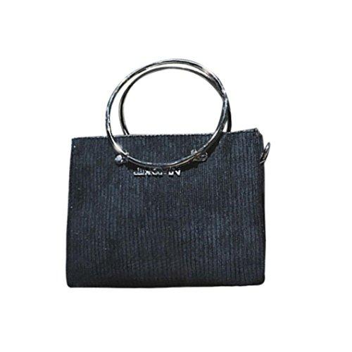 des à Crossbody bandoulière décoration avec de le Noir ronde de Sac mode Sansee laine de sac à main femmes Sacs de d'épaule fdBwqn6xY