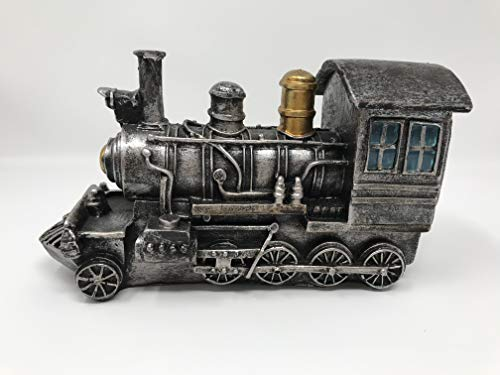 - Retro/Shabby Chic/Vintage Steam Engine Pen Holder for Desk/Coin Storage Bin