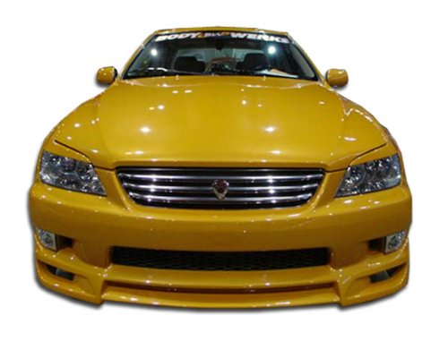 Duraflex Replacement for 2000-2005 Lexus IS Series IS300 4DR V-Speed Front Lip Under Spoiler Air Dam - 1 ()