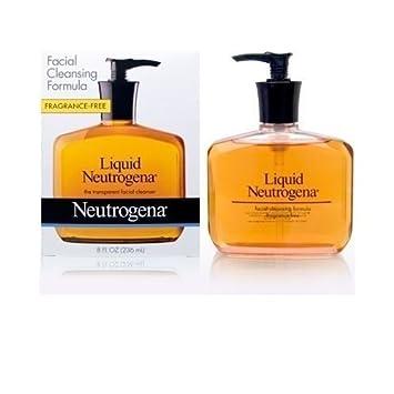 liquid formula Neutrogena facial cleansing