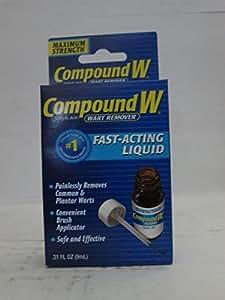 Compound W Liquid Wart Remover, .31 fl oz