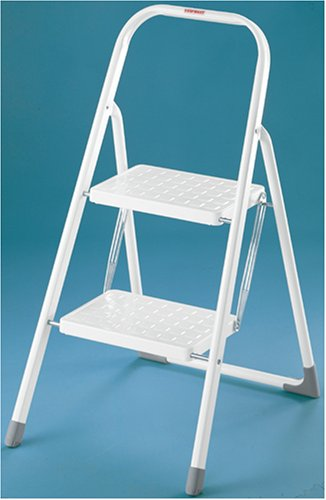 Excellent Leifheit Mobile Tread Step Ladder With 2 Steps Amazon Co Uk Cjindustries Chair Design For Home Cjindustriesco