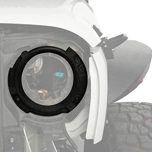(u-Box 7inch Headlight Replacement Mount Bracket Ring (Jeep Wrangler JK 2007-2018))