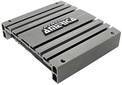 Pyramid PB918 2000 Watt 2 Channel Bridgeable Mosfet Amplifier Sound Around