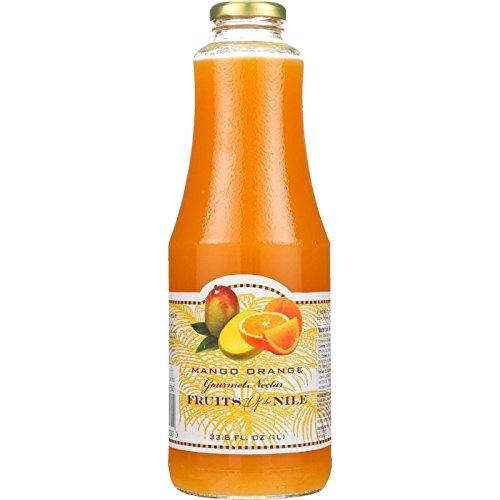 Nectar Mango Orange 33.80 Ounces (Case of 6) by Fruit of the Nile