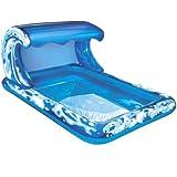 Big Waves Splash Park ( 74'L Inflatable Water Pool Backyard Aqua Fun)