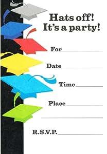 "Hallmark's Graduation ""Hats Off!"" Invitations"