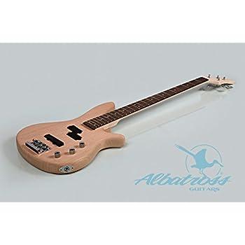 Amazoncom Alston Guitars DIY Electric Bass Guitar Kit BoltOn