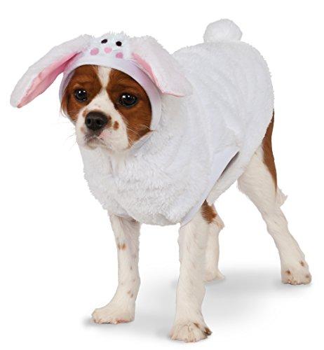 [Rubies Costume Bunny Hoodie Pet Costume, XX-Large] (Pet Bunny Halloween Costumes)