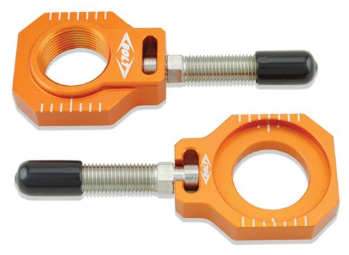 (Bolt Motorcycle Hardware (CHAD-KTM2.OR) Orange Chain Adjuster Block)