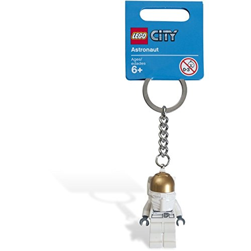 LEGO Exclusive City Astronaut Minifigure Key Chain 853096