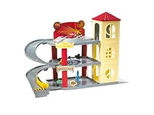 Amazon Com Cars Piston Cup Garage Toys Amp Games