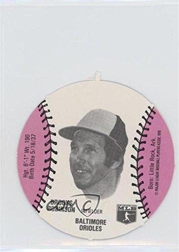 Brooks Robinson (Baseball Card) 1977 MSA Discs - [Base] - Burger Chef #BRRO