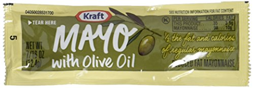 Kraft Mayo with Olive Oil, 200 Count