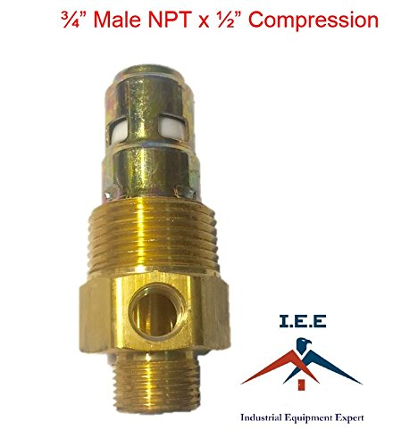 Brass Air Compressor 3/4