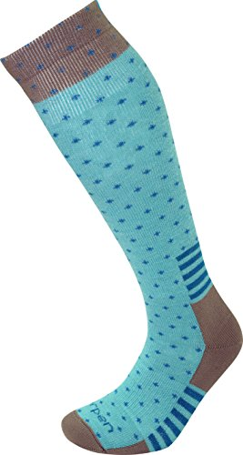 Lorpen Ski Merino Medium Sock - Lorpen Women's T2 Classic Merino Ski Light Socks, Turquoise, Small
