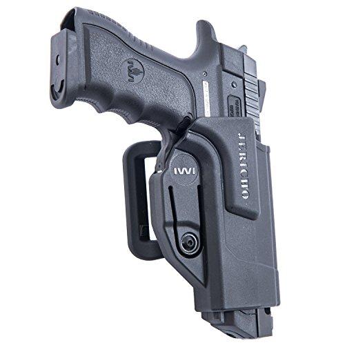 Orpaz Jericho 941 Gun Belt Holster Polymer 360 Rotation with Tension Adjustment ()