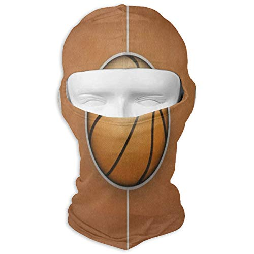 Balaclava Vintage Basketball Wooden Court Full Face Masks Ski Headcover Stylish Mens Motorcycle For Cycling