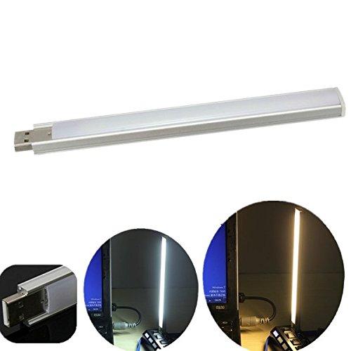 Pegasus 15 LED lectura de mini usb de la luz de noche teclado lámpara de noche de la tira de 5v PC portátil: Amazon.es: Iluminación