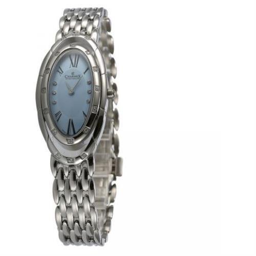 Charmex L's Bracelet Watch 5903 23.5x41mm Silver Steel Bracelet & Case Synthetic Sapphire Women's Watch