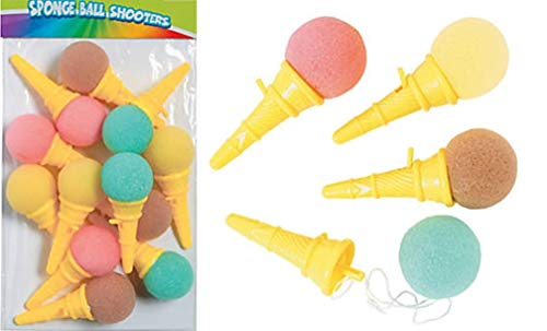 Ice Cream Party Favors (HAPPY DEALS ~ Mini Ice Cream Cone Shooter - 24 Pack - 3.75 inch)