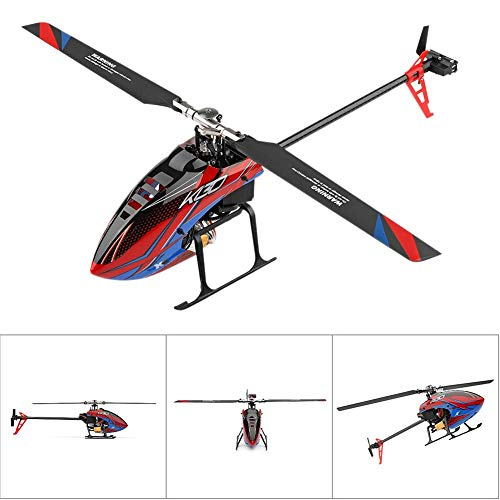 Blueyouth Aircraft Model - for Weili K130 RC Helicopter Six - Way Single - Blade Without Aileron Aircraft Model for Weili K130 RC by Blueyouth (Image #4)
