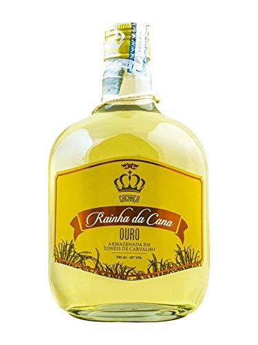 Cachaça Rainha Cana Ouro 700ml