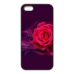 Flower of Love For SamSung Galaxy S4 Phone Case Cover Black