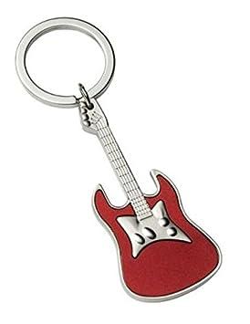 Ten Llavero Guitarra roja Satinada cod.EL2420 cm 10,5x3,3x1h ...
