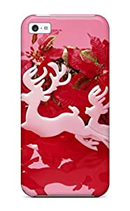 Top Quality Rugged Holiday Christmas Case Cover For Iphone 5c