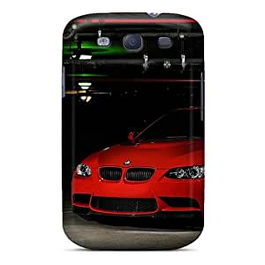 Protective Tpu Case With Fashion Design For Galaxy S3 (bmw M3 Red 1920x1200)