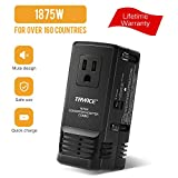 TryAce 2019 Professional 1875W Travel Adapter Voltage Converter, Power Set Down 220V to