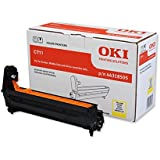 OKI C711 Laser Drum Unit Page Life 20000pp Yellow Ref 44318505
